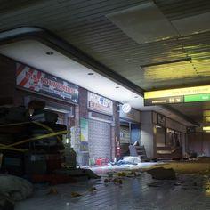 The Division - Dragon's Nest, Mathew O on ArtStation at https://www.artstation.com/artwork/PNGgo