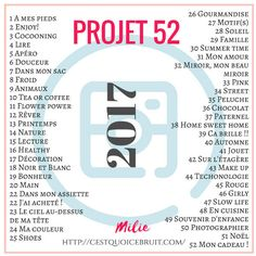 2017 Projet 52