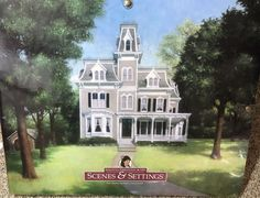 AMERICAN GIRL COLLECTION SAMANTHA'S WORLD 1904 LARGE BACKDROP BOOK RETIRED! #AmericanGirl #Accessories