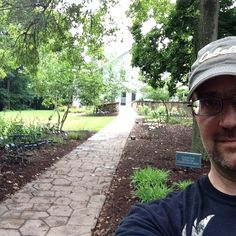 Joseph visited the Conservancy Donor Garden at the Hines Hill Campus.