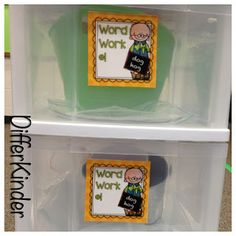 Organizing Daily 5 Literacy Stations in Kindergarten and ...a freebie for you.  GREAT POST on how to organize your D5 literacy work stations, including a rotation chart idea!