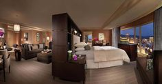 Bellagio Cypress suite in Las Vegas