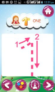 1234 Kids App: Number Tracing