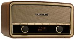 Stunning modern redesign of a 1958 traditional high-end radio. Brought up to date in features and design with Digital Radio and Bluetooth as standard.