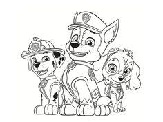 ausmalbilder paw patrol zum ausdrucken | paw patrol | malvorlagen, ausmalbilder zum ausdrucken