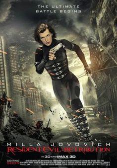 Thank God, it's Friday >> Resident Evil Retribution