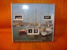 Weymouth Harbour calendar