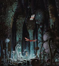 Studio Ghibli: Nausicaa of the Valley of the Wind http://imgur.com/a/XRAfu?gallery