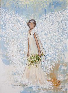 Ouvrages D'art, Palette Knife Painting, Angel Art, Art Abstrait, Sword Art Online, Diy Painting, Painting Inspiration, Original Paintings, Angel Paintings