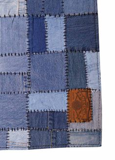 Ottomans And Things - Denim Rug Blue