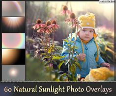 Sunlight photoshop overlays Sun Lens Flare Overlays by MixPixBox