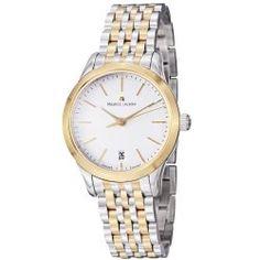 Maurice Lacroix Women s LC1026-PVY13130 Les Classiques Silver Dial Two Tone  Bracelet Watch 9f58f53352e