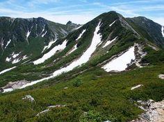 濃ヶ池カール。木曽駒ヶ岳|中央アルプス登山ルートガイド。Japan Alps mountain climbing route guide