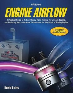 PDF Engine Airflow A Practical Guide to Airflow Theory, Parts Testing, Flow Bench Testing and Analy zing Data to Increase Performance for Any Street or Racing Engine, Author Harold Bettes Automotive Engineering, Engineering Technology, Mechanical Engineering, Automotive Industry, Hp Book, Race Engines, Combustion Engine, Car Advertising, Reading Levels