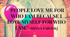 Inspirational quote. Love yourself. Self love. #quote