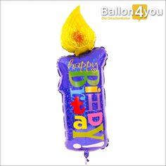 """Schwebende Geburtstagskerze     Happy Birthday to YOU!!! Wenn Sie dem Geburtstagkind symbolisch eine Kerze anzünden möchten, haben wir die perfekte Lösung. Absolut ungefährlich, nimmt sie eine längere Wegstrecke auf sich, um pünktlich geliefert zum Wunschtermin, das neue Lebensjahr zu """"entflammen""""."""
