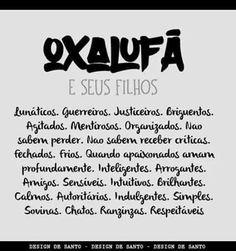 Filhos de Oxalufã