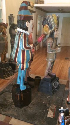 Fall Creek Gallery & Gardens home of Cigar Store Indian Statue Shop + Julie's Flowers of Geist in Indianapolis, Indiana 317-493-8583 www.cigarstoreindianstatue.com #nightlygrind #cigars #indyart #fallcreekgallery #cigarstoreindian #cigarstoreindianstatue