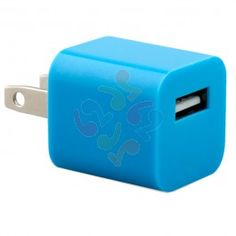 Eco USB Travel Charger Cube Universal 1A - Blue | RP: $9.95, SP: $8.95