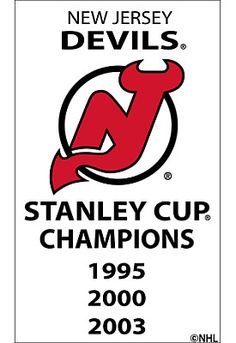 Future Product Sales New Jersey Devils 3x5 Replica Stanley Cup Banner