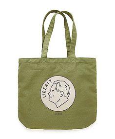 Hello, best shopping bag ever. Jack Spade.