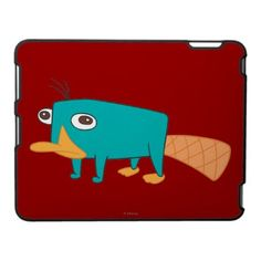 Perry the Platypus iPad Cover