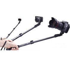 YUNTENG 188 Wrist Strap Monopod Handheld Extendable Gopro Tripod Monopod for Camera&Phone