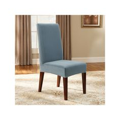 Jcpenney Dining Chair Covers Kitchen Chairs At Target 18 19 Sure Fit Cotton Duck Slipcover Short Found Misc Pinterest Slipcovers And