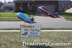 """This Mommy Loves: Baby's First Birthday Theme: """"Time Flies By/Just Plane Fun"""""""