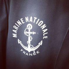 1989年4月製【FRANCE】MARINE NATIONAL 『BLOUSON』STAND UP COLLOR JACKET SIZE 92 フランス軍 NAVY ブルゾン スタンドアップカラージャケット Collor, Military, France, Navy, Sweatshirts, Sweaters, Fashion, Hale Navy, Moda