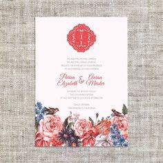 Diy printableeditable chinese wedding invitation card template image result for old shanghai wedding invitation stopboris Image collections
