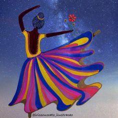 """Iris Scuccato no Instagram: """"""""No momento em que nos comprometemos, a providência divina também se põe em movimento. Todo um fluir de acontecimentos surge ao nosso favor. Como resultado da atitude, seguem todas as formas imprevistas de coincidências, encontros e ajuda, que nenhum ser humano jamais poderia ter sonhado encontrar. Qualquer coisa que você possa fazer ou sonhar, você pode começar. A coragem contém em si mesma, o poder, o gênio e a magia."""" Johann Goethe """""""