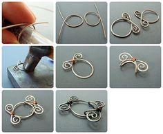 Garden Gate Clasp #Wire #Jewelry #Tutorials
