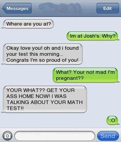 hahaha... ouch