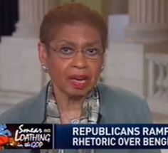 MAJOR STUPIDITY....House Democrat Eleanor Holmes Norton: 'Enough Of Benghazi', 'What's The Big Deal Here?'....5/9...more>>