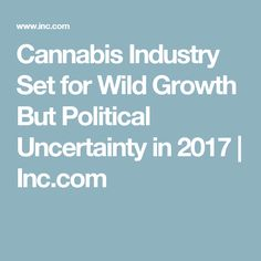 Cannabis Industry Set for Wild Growth But Political Uncertainty in 2017 | Inc.com