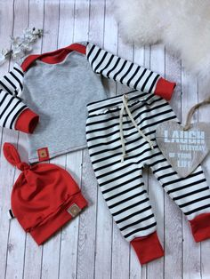 Kombi verschiedene stoffe The post Kombi verschiedene stoffe appeared first on Love Mode. Cute Outfits For Kids, Baby Boy Outfits, Baby Boy Fashion, Kids Fashion, Baby Set, Baby Kids Clothes, Baby Boy Newborn, Baby Sewing, Clothing Patterns