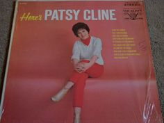 "Patsy Cline / Here's Patsy Cline / 12"" Vinyl LP Record / Vocalion VL 73753 RARE"
