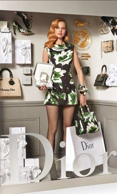 Dior Window shopping - Luxurydotcom