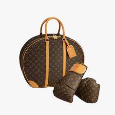 Pin for Later: Steht ein Boxsack von Louis Vuitton auf eurem Wunschzettel? Karl Lagerfeld für Louis Vuitton Punching suitcase (4.000€) Photo courtesy of Louis Vuitton