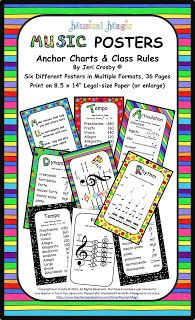 MyMusicalMagic: Freebie: Music Class Rules Poster                                                                                                                                                                                 More