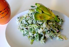 """Raw Vegan Caesar Salad Recipe - A healthy version of the classic Caesar Salad! Nutritious and delicious! Eat all the salad dressing you want! Here is our take on the classic """"Cesar"""" salad! Recipe in the link below http://gentlegiantfoods.com/blog/2013/12/17/raw-vegan-cesar-caesar-salad-recipe/"""