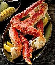 King Crab Legs.. A family favorite, but we don't get it very often.