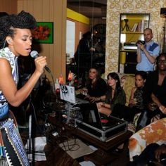 Solange's Havana Twist Updo