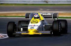1984 - Keke Rosberg - Williams FW09 Powered by Honda RA163E 1,5 V6 t
