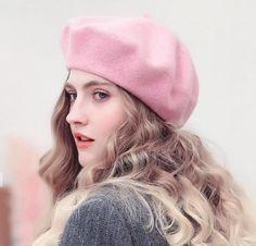 French Style Haircut, Cap Girl, Wool Berets, Stylish Girls Photos, Cute Girl Poses, Winter Hats For Women, Girls Dpz, Etsy, Flat Cap