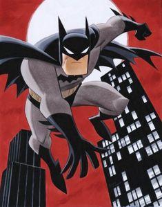 Batman, by Bruce Timm. Source: cooketimm