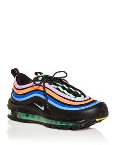 Air Max 97, Nike Air Max, Swag Shoes, Black Wardrobe, Air Max Women, Running Sneakers, Shoe Game, Black Silver, Nike Shoes