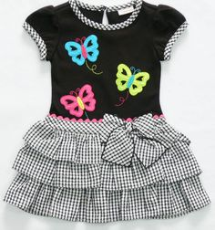 Resultado de imagen para vestidos de niña youngland Toddler Dress, Toddler Outfits, Toddler Girl, Kids Outfits, Little Girl Dresses, Girls Dresses, Baby Girl Fashion, Kids Fashion, Dress Anak