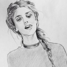 https://flic.kr/p/v3uKZc | Repost from @aohnna I just turned 20 today ! ✌️#birthday #ohyeah #sketch #drawing #graphite #pencil #illustration #artwork #ladyterezie  ♦️♦️♦️♦️♦️:black_diamond_su